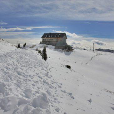 Rotwand Winterwanderung mit Schlittenabfahrt