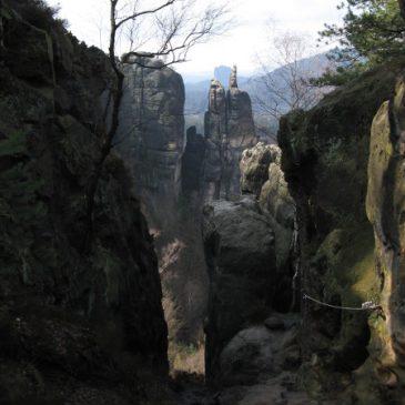 Stiegen in der Sächsischen Schweiz
