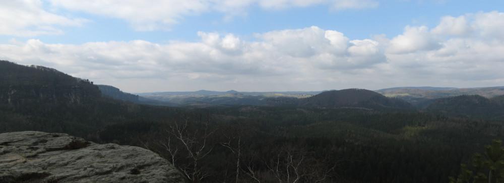 Aussicht Winterstein
