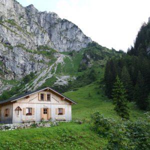 Lager der Tutzinger Hütte