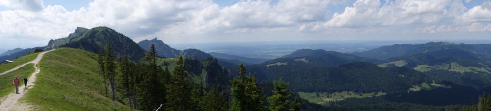 Ausblick vom Brauneck