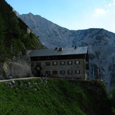 Etappenziel für heute: Karwendelhaus