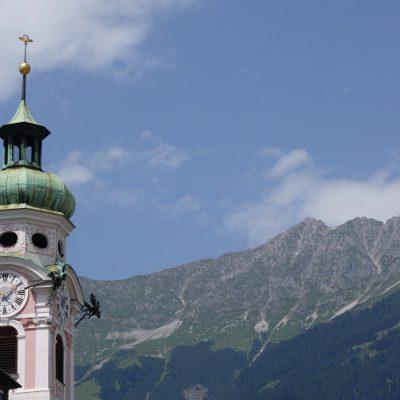 Berge vor Innsbruck