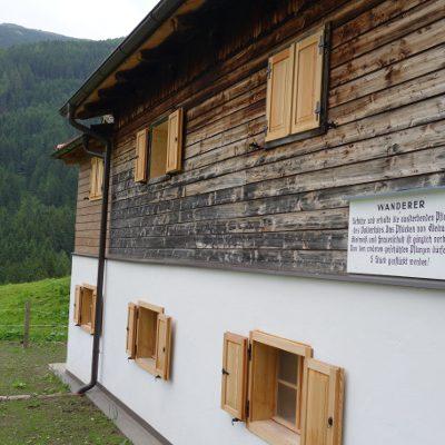 Häuser der Stiftsalm und Kohlerhof