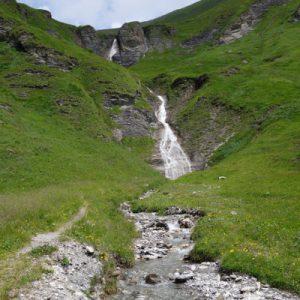 Am Wasserfall machten wir nochmal eine kleine Pause