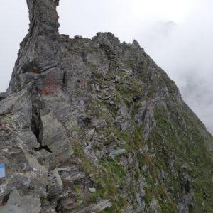 Friesenbergscharte erreicht