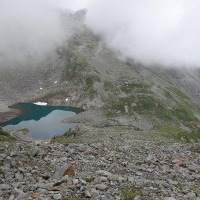 Blick auf den Friesenbergsee