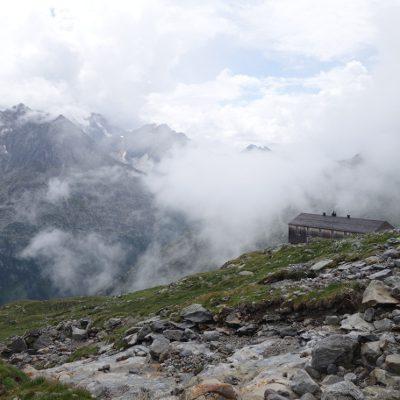 Das Etappenziel: Die Olpererhütte