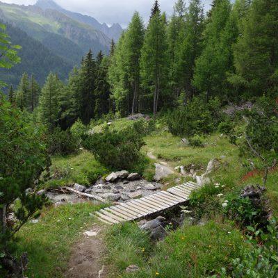 Der Weg ins Tal