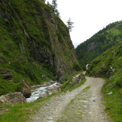 Und wandern ins Tal