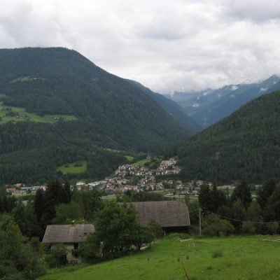 Blick auf Niedervintl