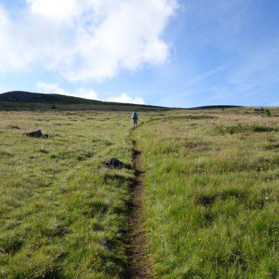Bergauf und bergab