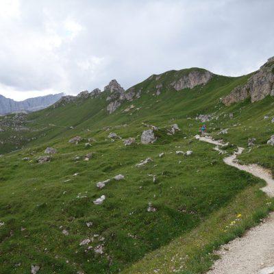 Wir folgen dem Dolomitenhöhenweg 2