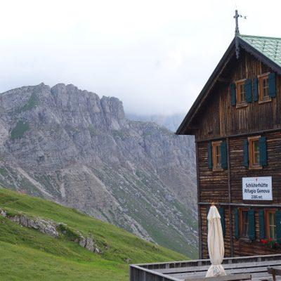 Ziel des Tages: Schlüterhütte