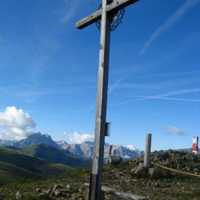 Gipfelkreuz des Gampill