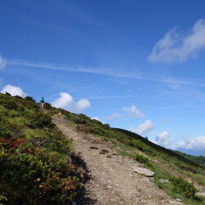 Das Auf und Ab bringt auf dieser Etappe 1370 Höhenmeter