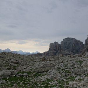 Auf dem Plateau von Pisciadu