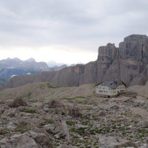 Die Pisciadiu Hütte