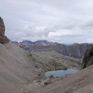 Blick zurück zum Lech de Pisciadu