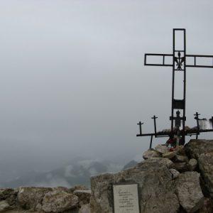Gipfelkreuz des Piz Boe