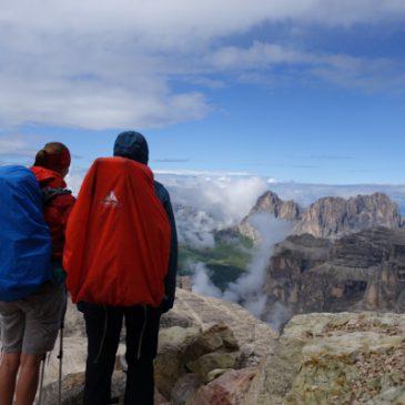 muve Etappe 17: Rifugio Pisciadu – Lago di Fedaia