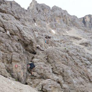 Und wieder ein kleiner Klettersteig