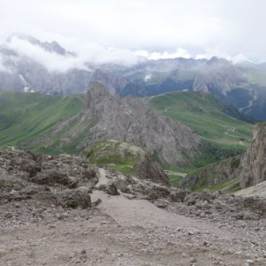 Abstieg zum Pordio-Joch