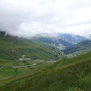 Weiterweg über Rifugio Fredorala und Viel dal Pan