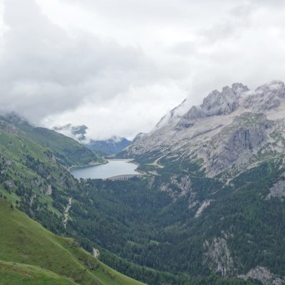 Blick zum Lago di Fedaia