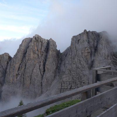Ausblick vom Rifugio Coldai