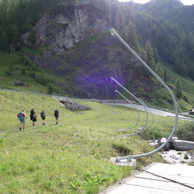 Nach dem Lago di Fedaia sind wir den Schipisten gefolgt