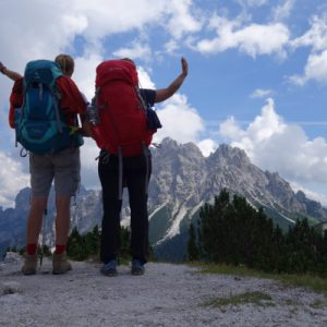 Auf Wiedersehen Dolomiten - unser letzter Dolomitentag