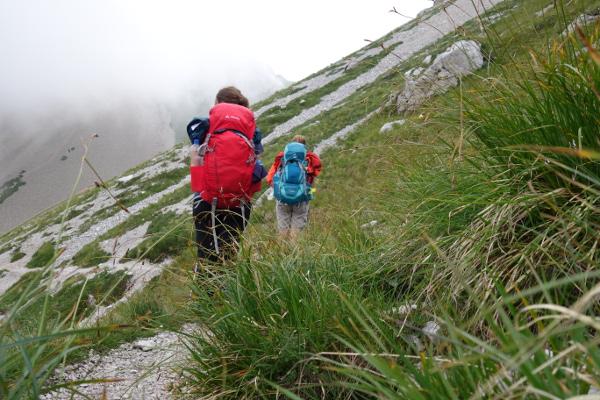 Klettersteigset Leihen München : München u2013 venedig etappe 20: passo duran rifugio pian de fontana