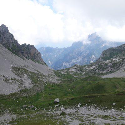 Ins Tal mit vielen Murmeltieren