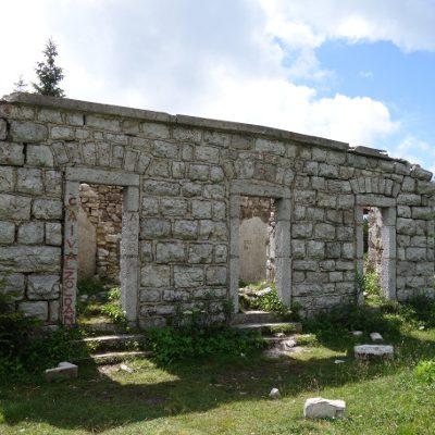 Ruinen auf dem Weg