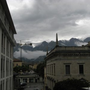 Regen in Belluno