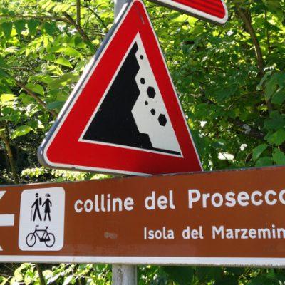 In der Prosecco-Gegend unterwegs