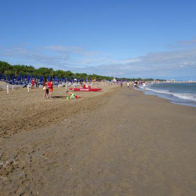 Am Strand von Cavallino