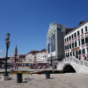 Angekommen in Venedig