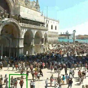 Beweisfoto von der Webcam auf den Markusplatz ;-)