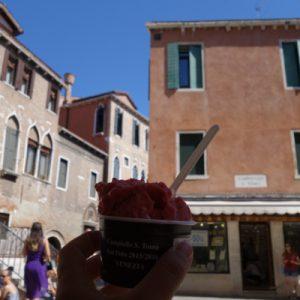 Das verdiente Eis in Venedigs bester Eisdiele