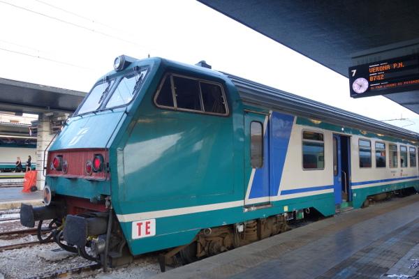 Unser Zug nach Verona