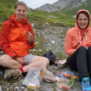 muve: Vegan über die Alpen