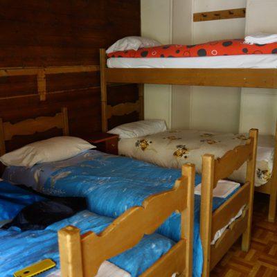 Zimmer im Rifugio Marmolada