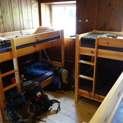 Lager in der Schlüterhütte