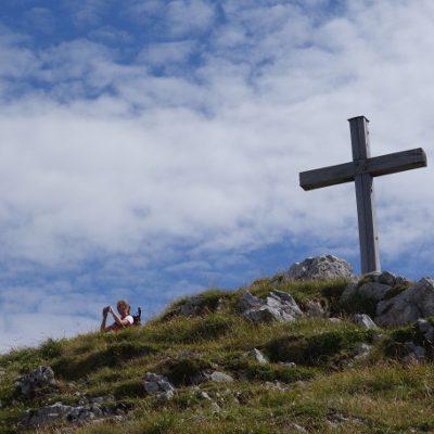 Gipfelkreuz vom Krottenkopf