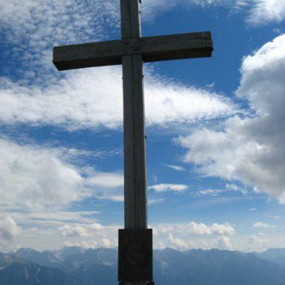 Gipfelkreuz der Hohen Kisten