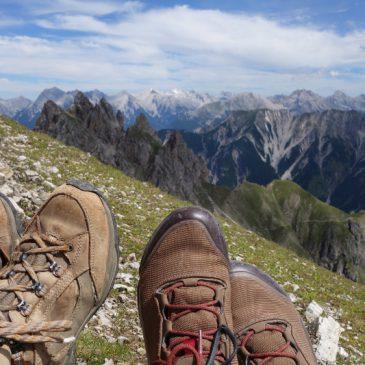 Hüttenwochenende im Karwendel: Nördlinger Hütte und Reither Spitze (2374m)