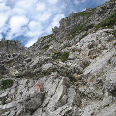 Spannender Weg zum Gipfel