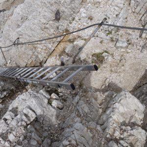 Abstieg von der Reither Spitze